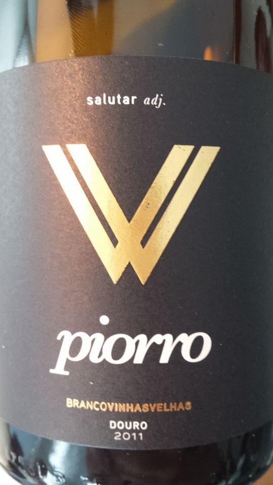 Piorro – Branco Vinhas Velhas 2011 (salutar adj.) – Douro