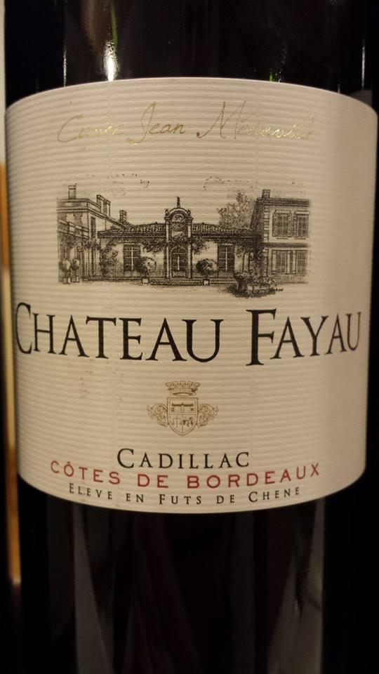 Château Fayau – Cuvée Jean Médeville 2012 – Côtes-de-Bordeaux