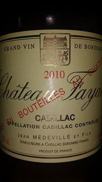 Château Fayau 2010 – Cadillac