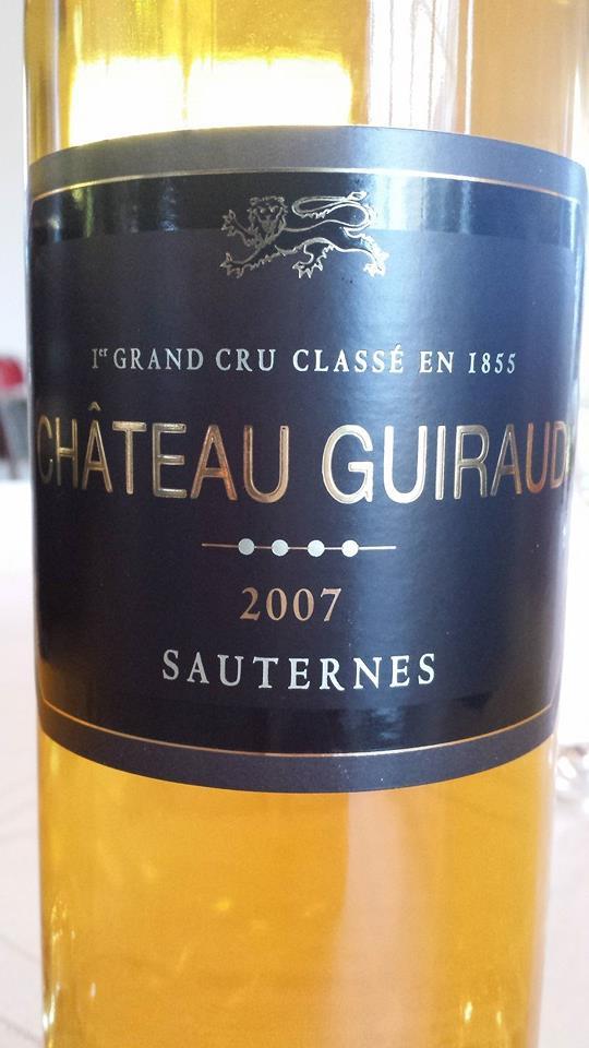 Château Guiraud 2007 – Sauternes – 1er Grand Cru Classé