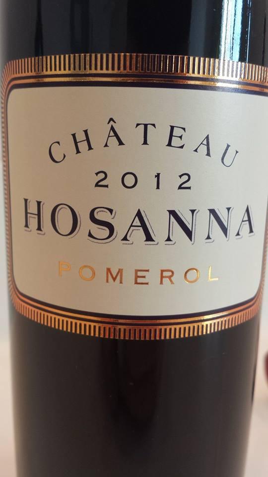 Château Hosanna 2012 – Pomerol