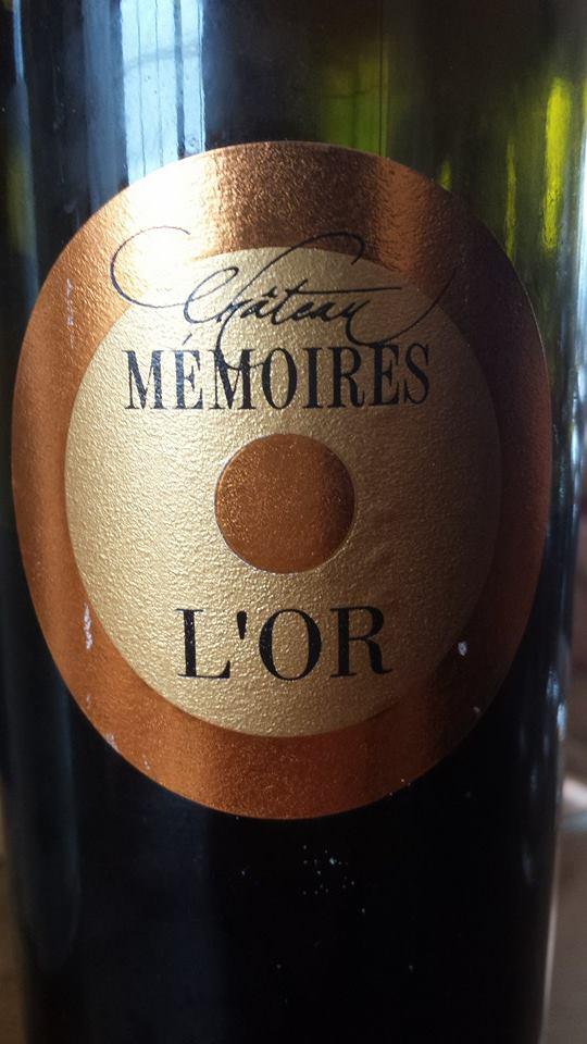 Château Mémoires – L'Or 2001 – Loupiac