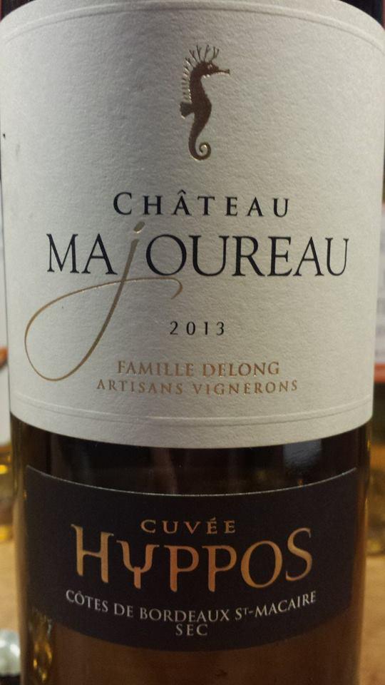 Château Majoureau – Cuvée Hyppos 2013 – Côtes-de-Bordeaux St Macaire