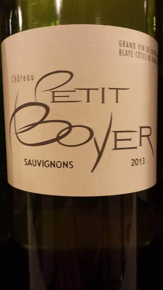 Château Petit Boyer 2013 – Blaye Côtes-de-Bordeaux