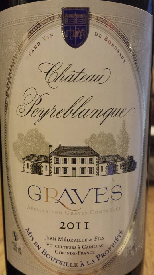 Château Peyreblanque 2011 – Graves