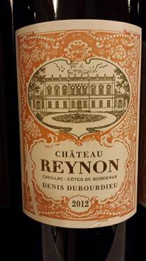 Château Reynon 2012 – Cadillac Côtes-de-Bordeaux