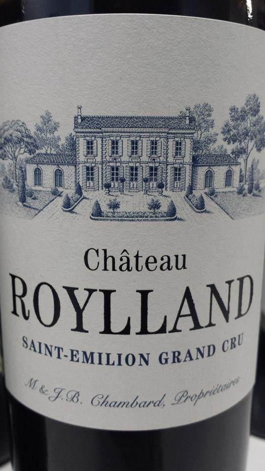 Château Roylland 2012 – Saint-Emilion Grand Cru
