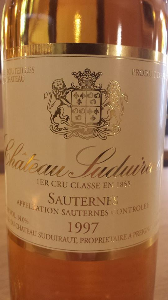 Chteau Suduiraut 1997 1er Cru Class Sauternes