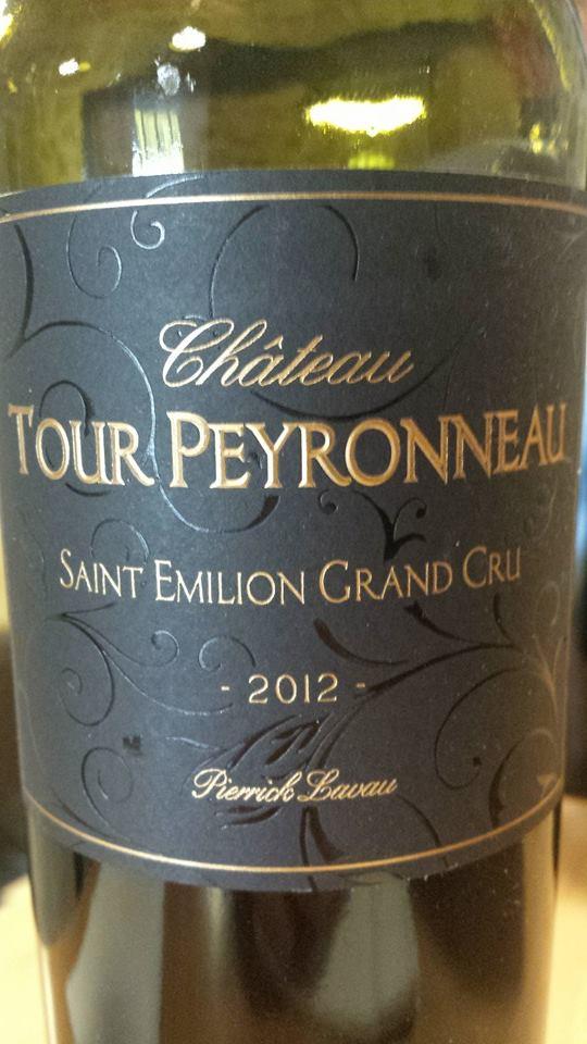 Château Tour Peyronneau 2012 – Cuvée Pierrick Lavau – Saint-Emilion Grand Cru
