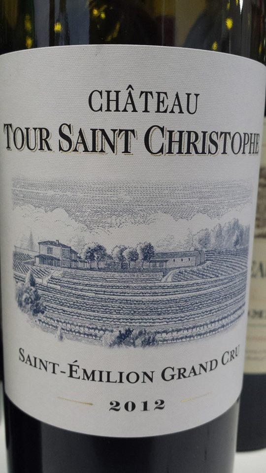 Château Tour Saint Christophe 2012 – Saint-Emilion Grand Cru