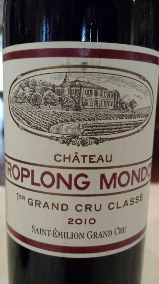Château Troplong Mondot 2010 – Saint-Emilion Grand Cru Classé B