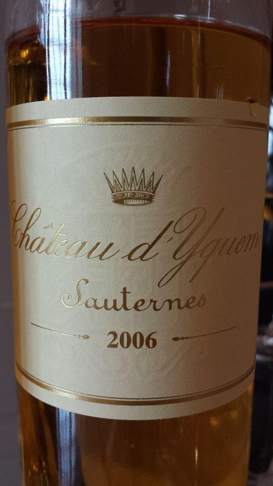 Château d'Yquem 2006 – Sauternes – 1er Grand Cru Classé Supérieur