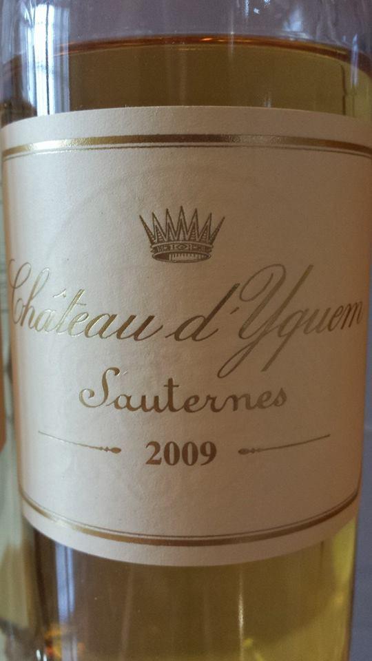 Château d'Yquem 2009 – Sauternes – 1er Grand Cru Classé Supérieur