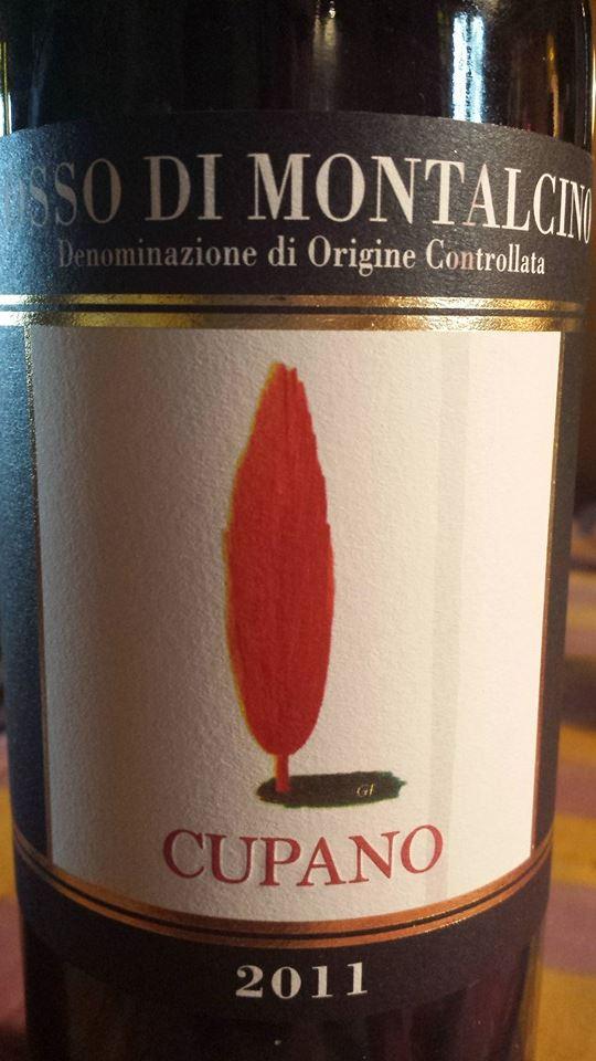 Cupano 2011 – Rosso Di Montalcino