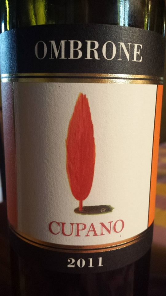 Cupano – Ombrone 2011 – Sant'Antimo