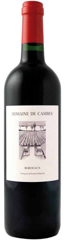 Domaine de Cambes 2013 – Bordeaux Supérieur