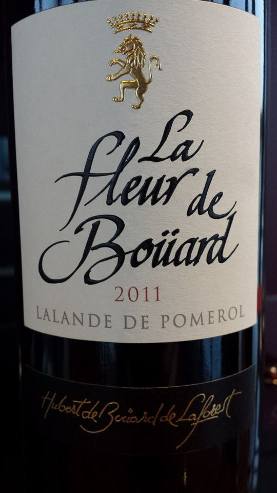 La Fleur de Boüard 2011 – Lalande de Pomerol