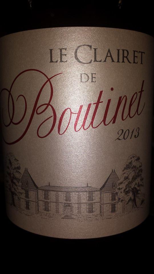 Le Clairet de Boutinet 2013 – Bordeaux Clairet