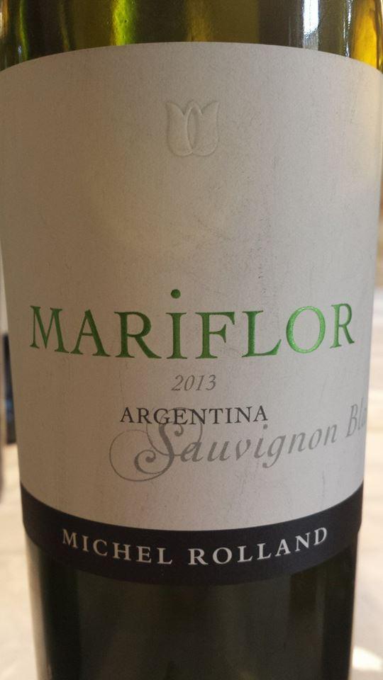 Mariflor (Bodega Rolland) – Sauvignon Blanc 2013 – Valle de Uco – Mendoza