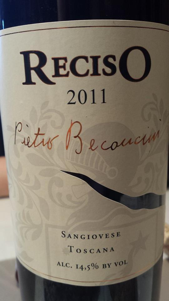 Pietro Beconcini – Reciso 2011 – Sangiovese – Toscana IGT