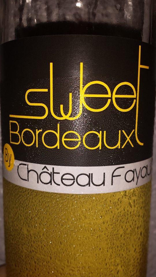 Sweet Bordeaux by Château Fayau 2013 – Première Côtes-de-Bordeaux