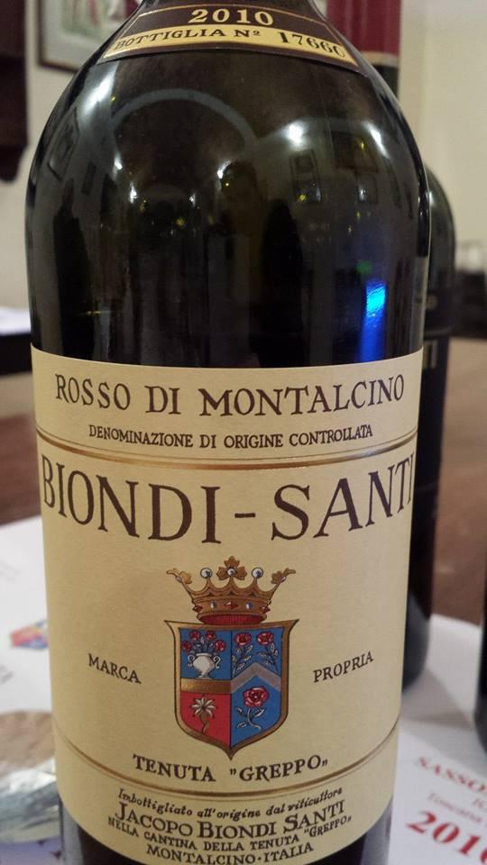 Tenuta Greppo – Biondi Santi 2010 – Rosso di Montalcino