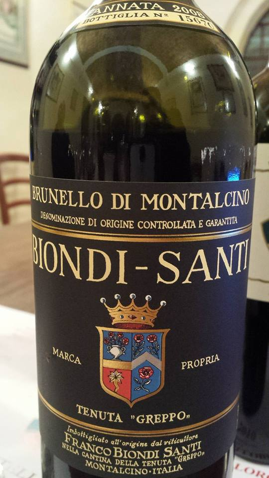 Tenuta Greppo – Biondi-Santi – Annata 2008 – Brunello Di Montalcino