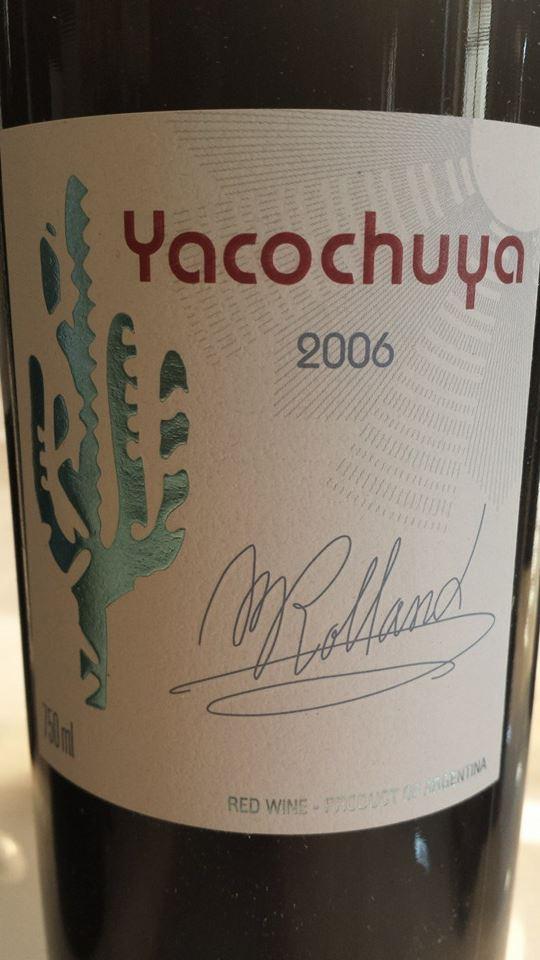 Yacochuya 2006 – Valle de Cafayate – Salta