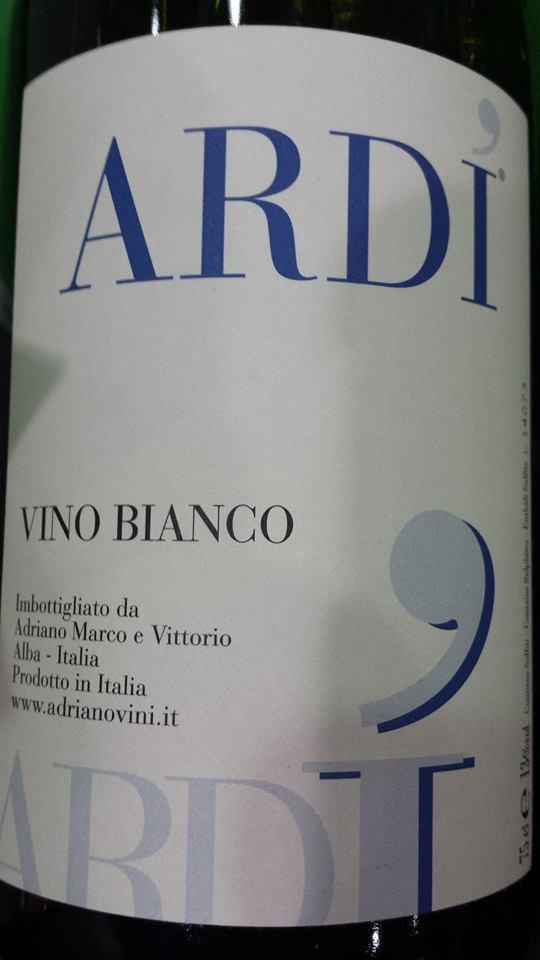 Adriano Marco E Vittorio – Ardi 2013 – Vino Bianco – Vino d'Italia