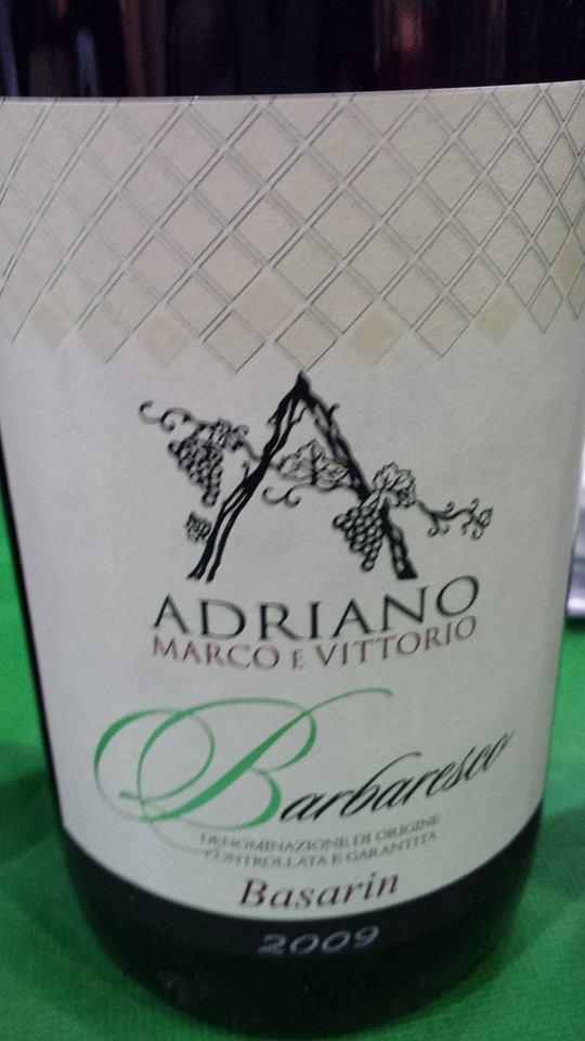 Adriano Marco E Vittorio – Basarin 2009 – Barbaresco