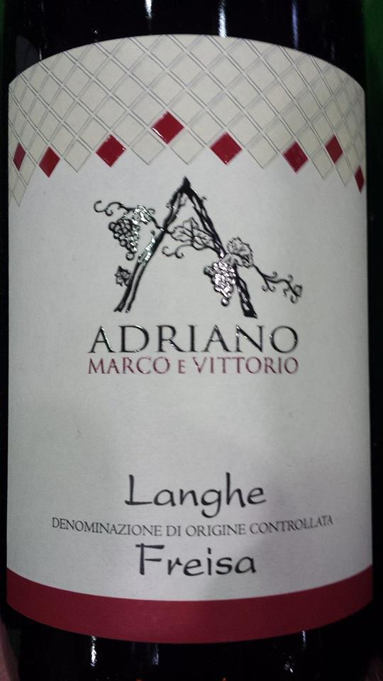 Adriano Marco E Vittorio – Freisa 2013 – Langhe DOC