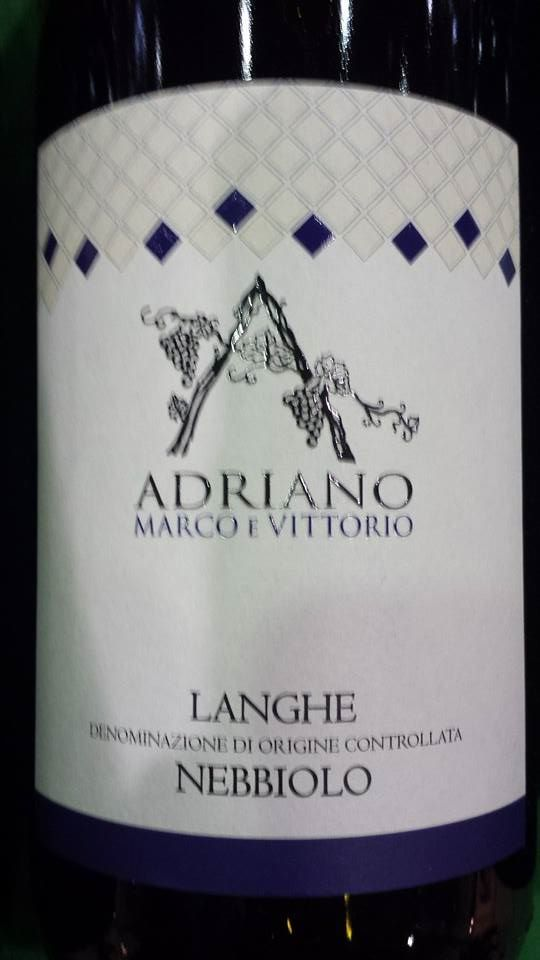 Adriano Marco E Vittorio – Nebbiolo 2013 – Langhe DOC