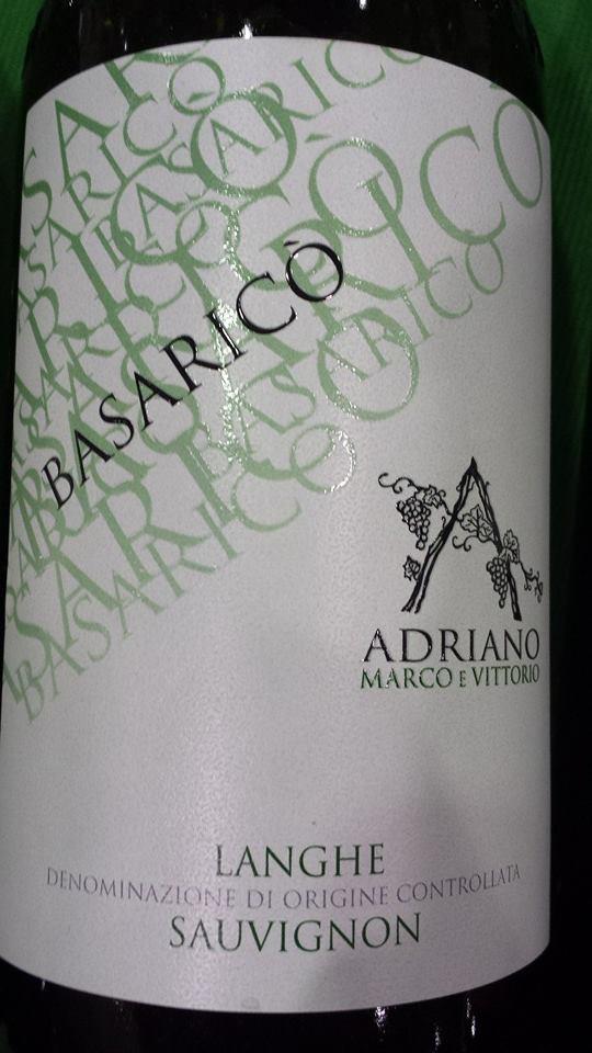 Adriano Marco E Vittorio – Sauvignon 2013 – Basarico – Langhe DOC