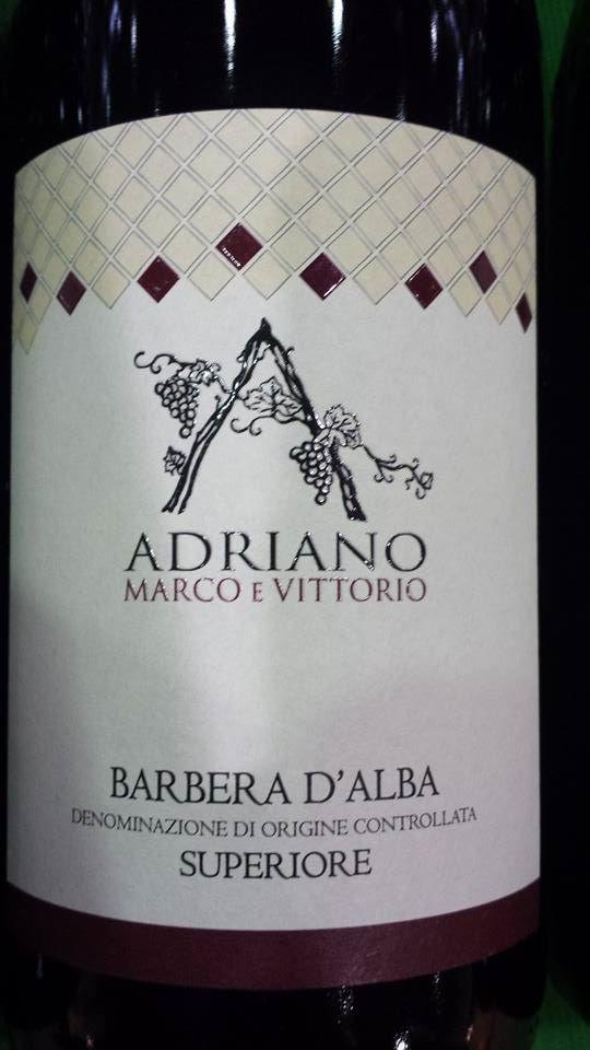 Adriano Marco E Vittorio 2012 – Barbera D'Alba Superiore