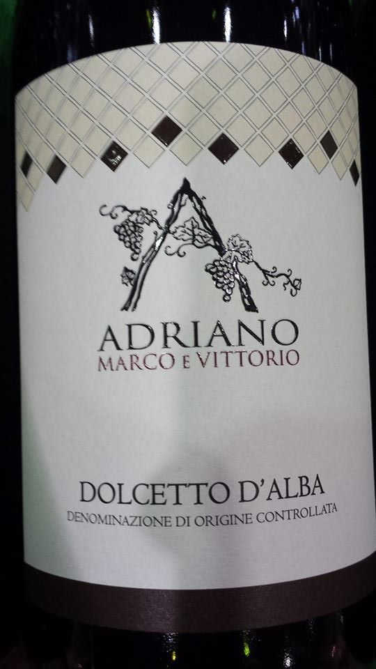 Adriano Marco E Vittorio 2013 – Dolcetto D'Alba DOC