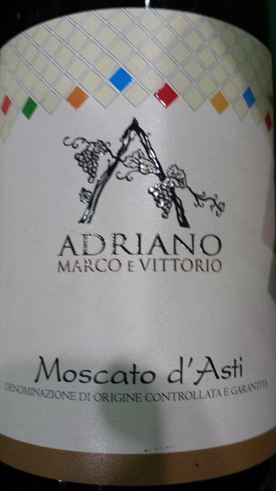 Adriano Marco E Vittorio 2014 – Moscato d'Asti