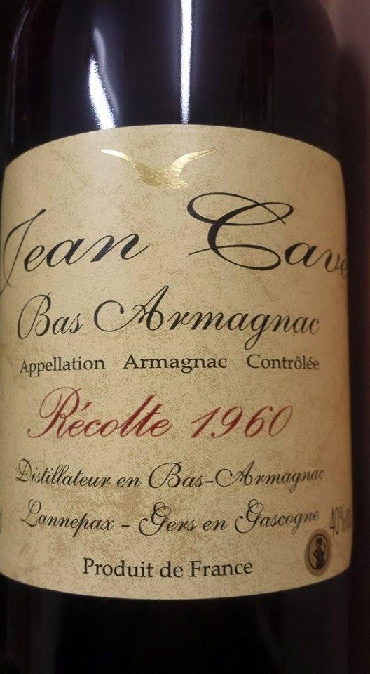 Armagnac Jean Cavé 1960 – Bas-Armagnac