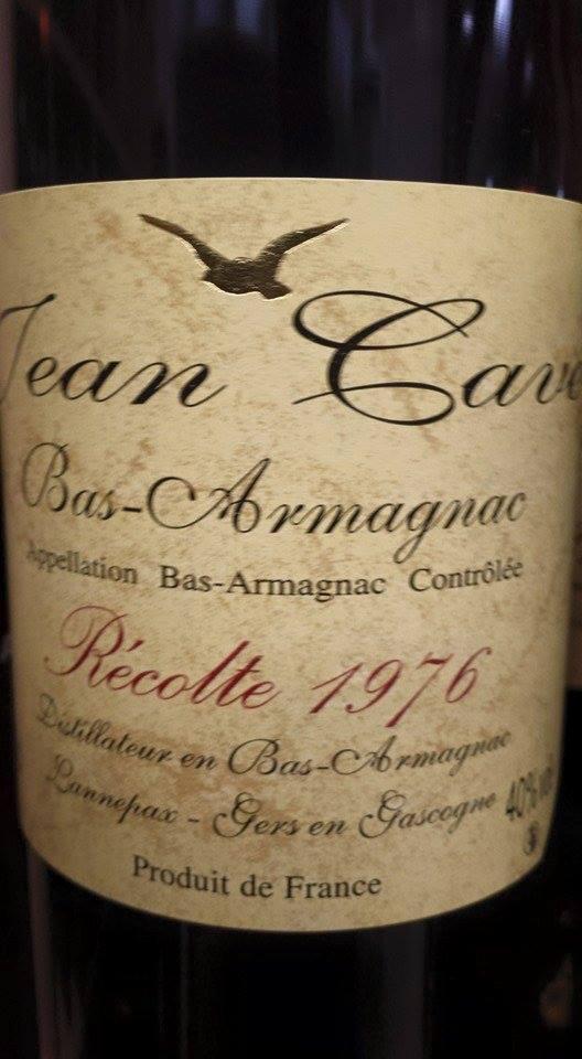 Armagnac Jean Cavé 1976 – Bas-Armagnac