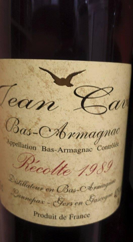 Armagnac Jean Cavé 1989 – Bas-Armagnac