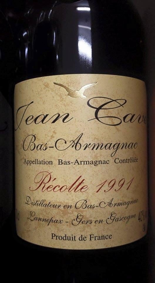 Armagnac Jean Cavé 1991 – Bas-Armagnac