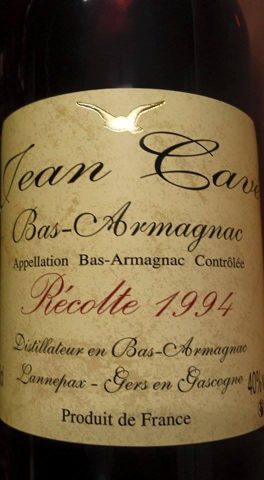 Armagnac Jean Cavé 1994 – Bas-Armagnac