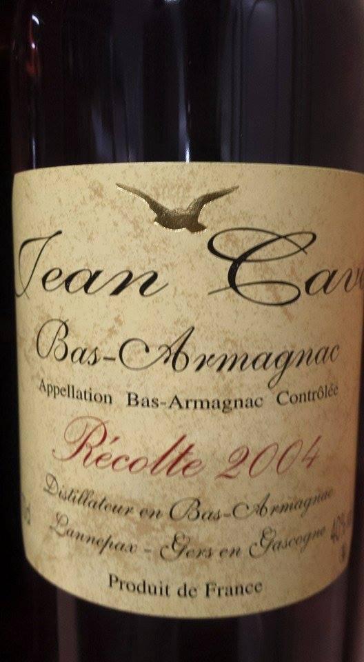 Armagnac Jean Cavé 2004 – Bas-Armagnac