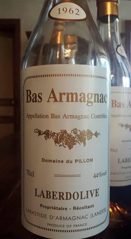 Armagnac Laberdolive 1962 – Domaine de Jaurrey – Bas-Armagnac