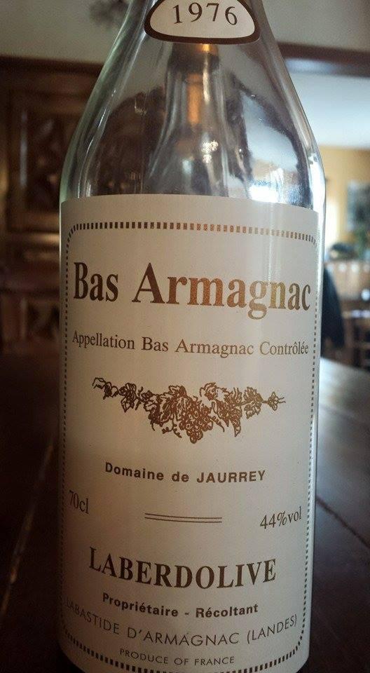 Armagnac Laberdolive 1976 – Domaine de Jaurrey – Bas-Armagnac