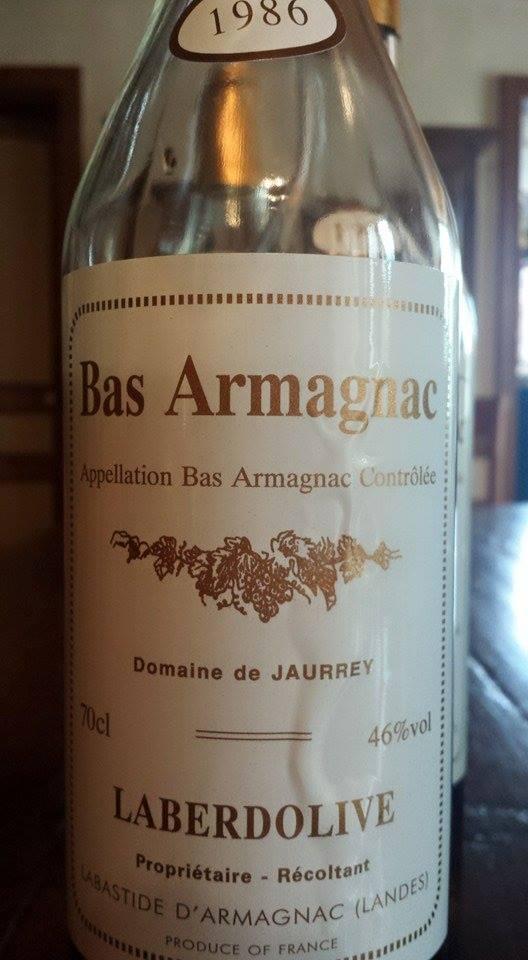 Armagnac Laberdolive 1986 – Domaine de Jaurrey – Bas-Armagnac