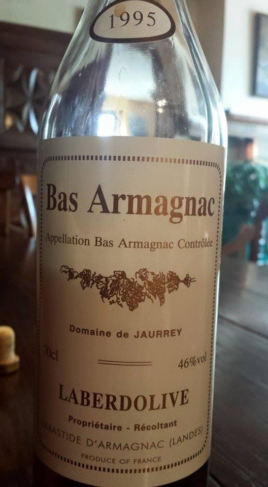 Armagnac Laberdolive 1995 – Domaine de Jaurrey – Bas-Armagnac