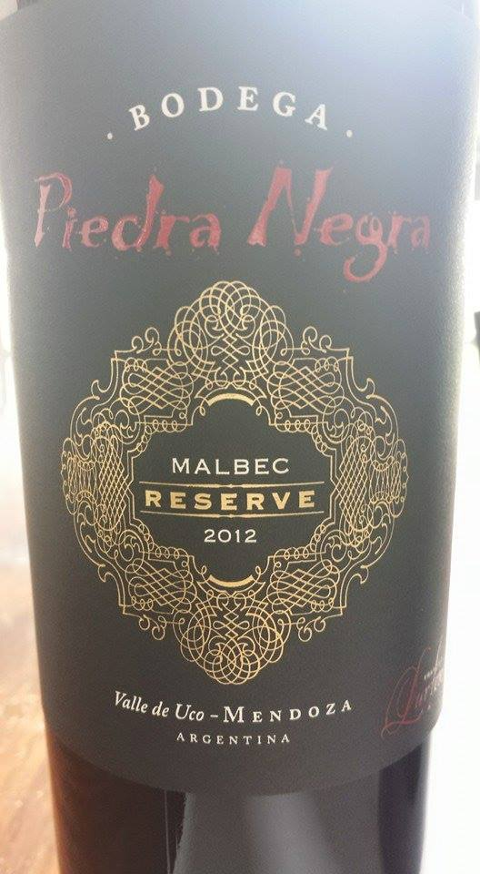 Bodega Piedra Negra – Malbec Reserve 2012 – Valle de Uco – Mendoza