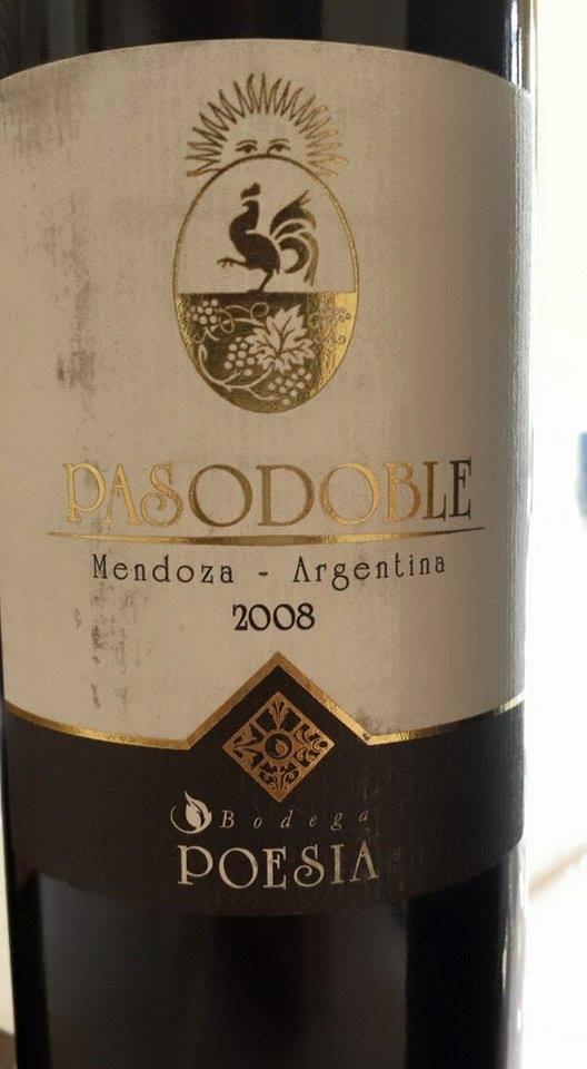 Bodega Poesia – Pasodoble 2008 – Mendoza