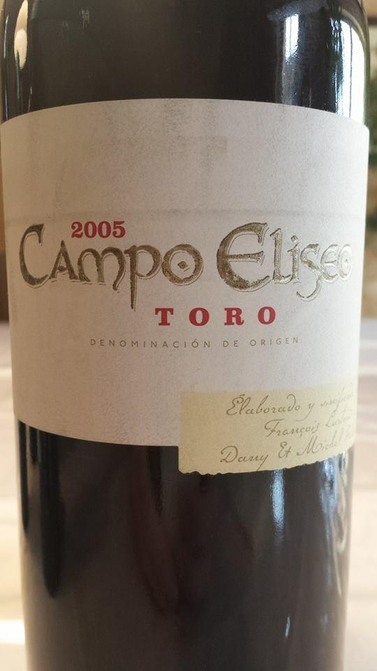 Campo Eliseo 2005 – Tinta de Toro – Toro