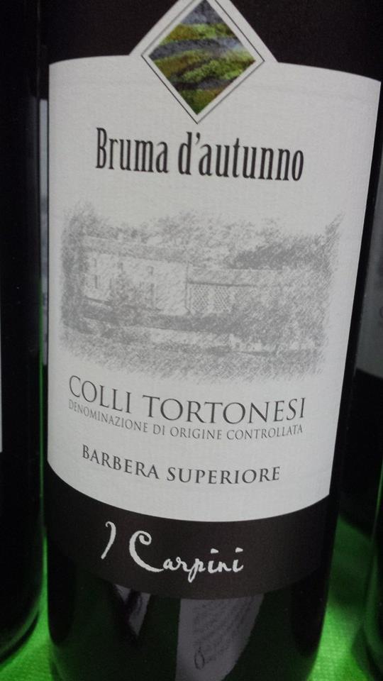 Cascina I Carpini – Bruma d'autunno – Barbara Superior 2008 – Colli Tortonesi